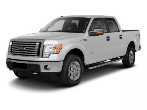 Pre-Owned 2011 Ford F-150 Lariat 4WD Crew Cab Pickup